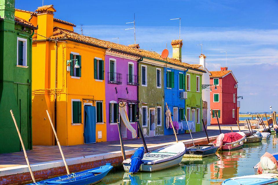 Isola di Burano - isole italiane più belle