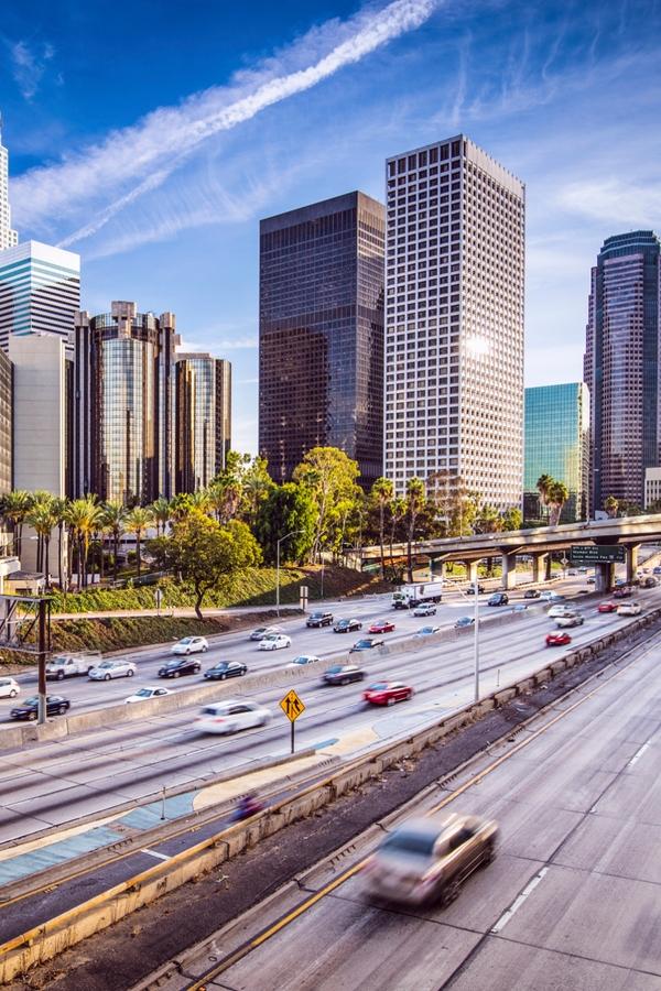 Die beliebtesten Städte der USA: Los Angeles, Kalifornien