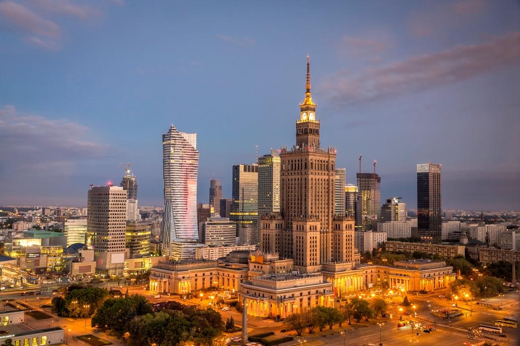 Ανάκτορο του Πολιτισμού και των Επιστημών - αξιοθέατα στη Βαρσοβία