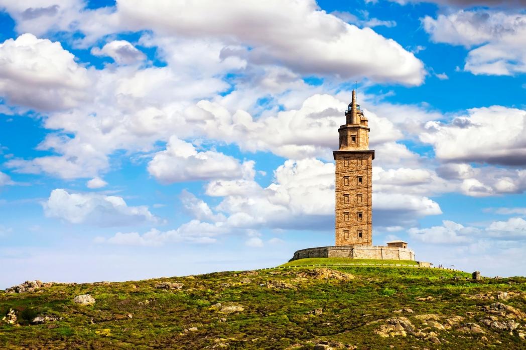 O Πύργος του Ηρακλή στη Λα Κορούνια