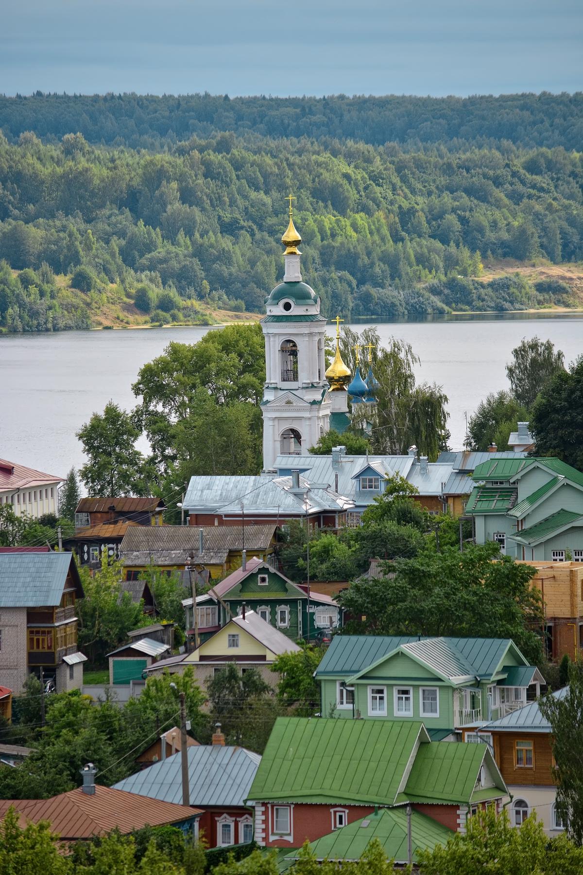 Самые красивые старинные города России —Плёс