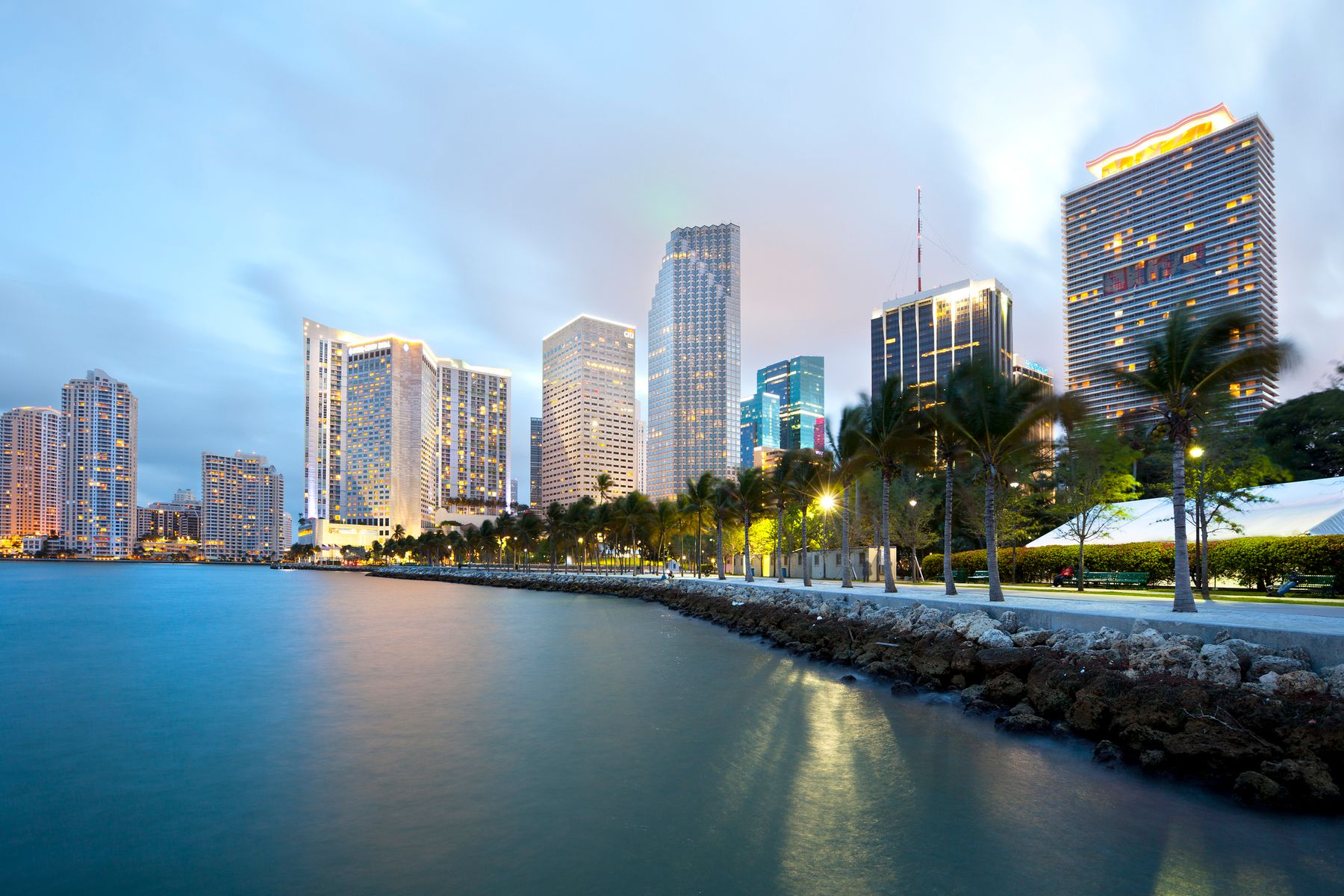 Travelers flying out of Miami have three airports near them to choose from.