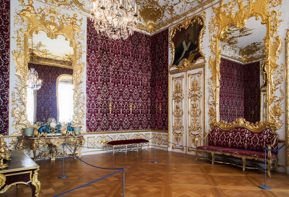 Λουσάτη αίθουσα στο μουσείο Residenz - ταξίδι στο Μόναχο