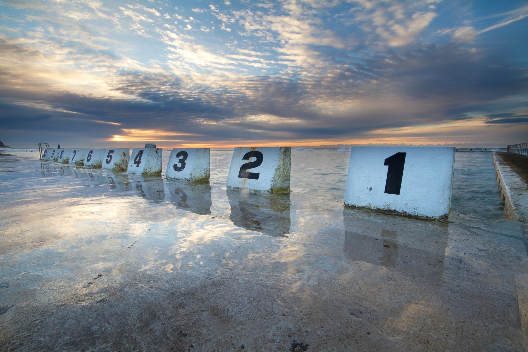 Mereweather Ocean Baths in Newcastle