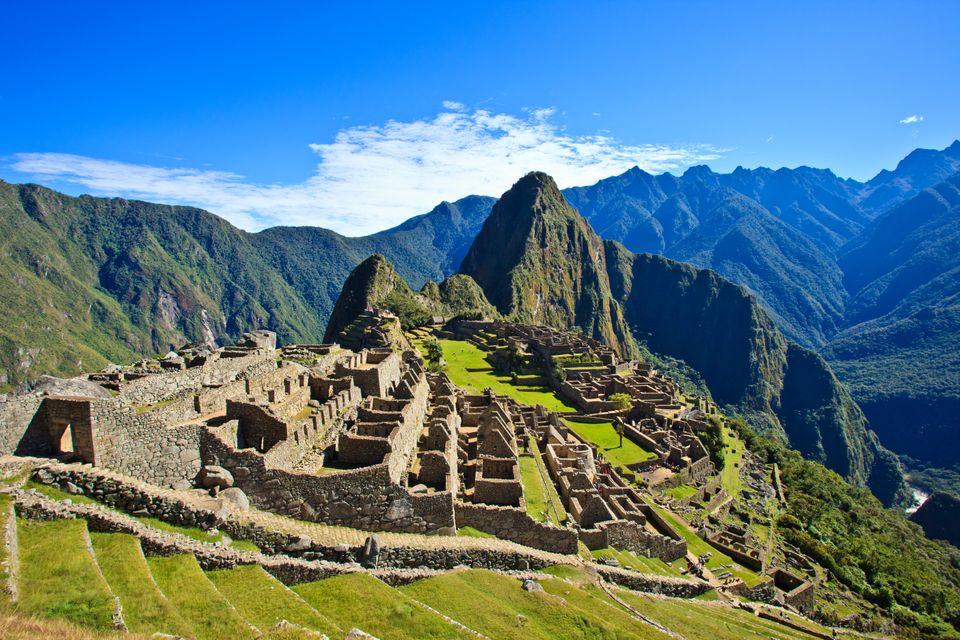 Die schönsten Reiseziele in Südamerika: Machu Picchu, Peru