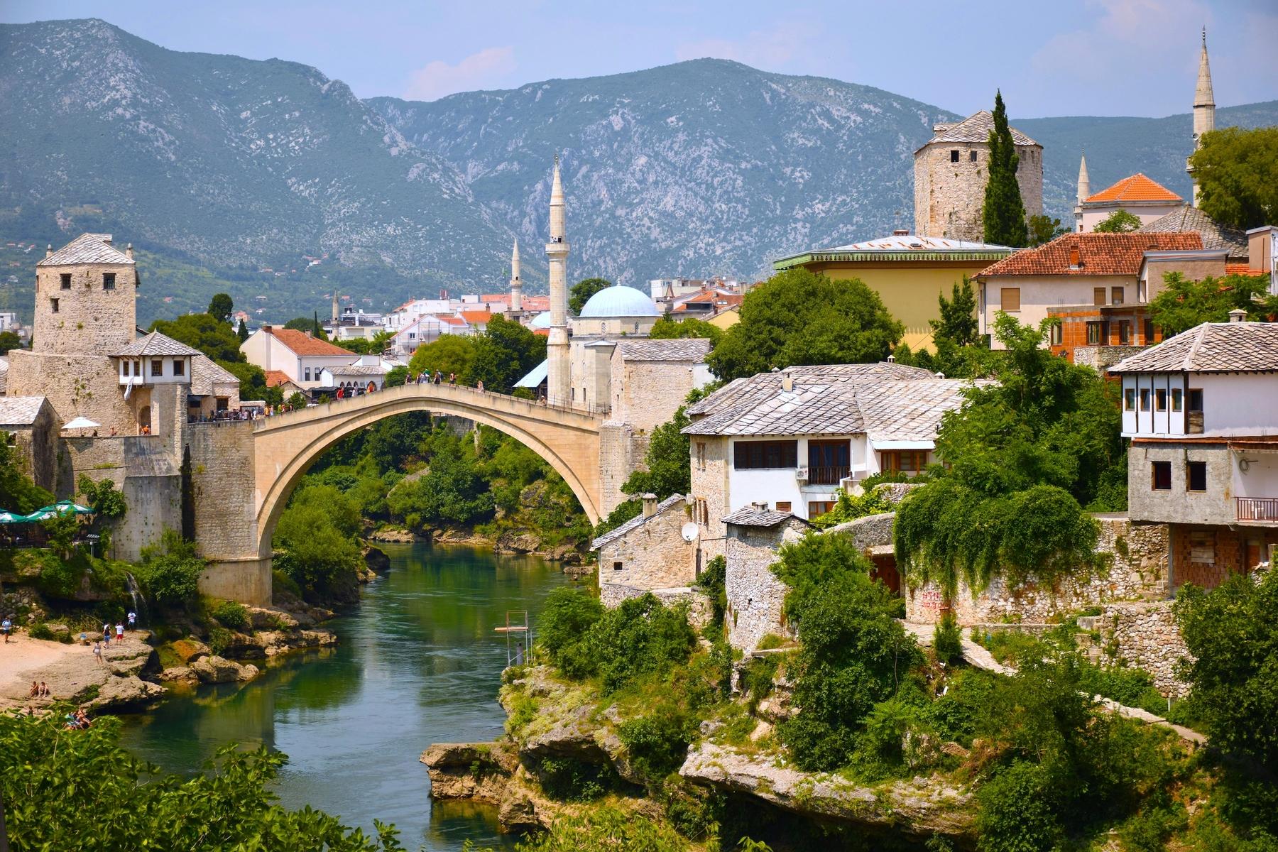 Mostar, Bosnië