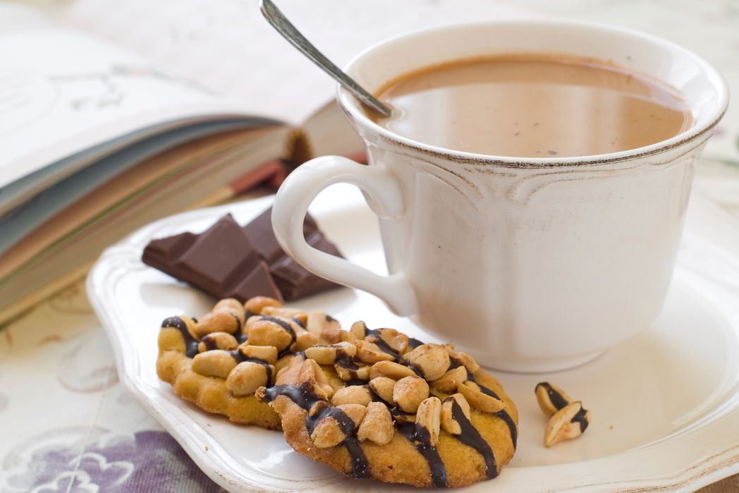Zεστή σοκολάτα και μπισκότα