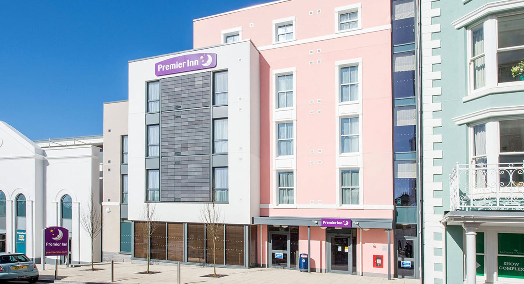 A view of a Premier Inn property in the UK