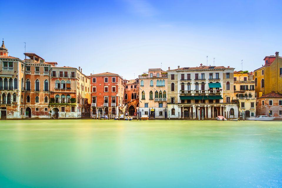 Εικόνα σπιτιών της Βενετίας