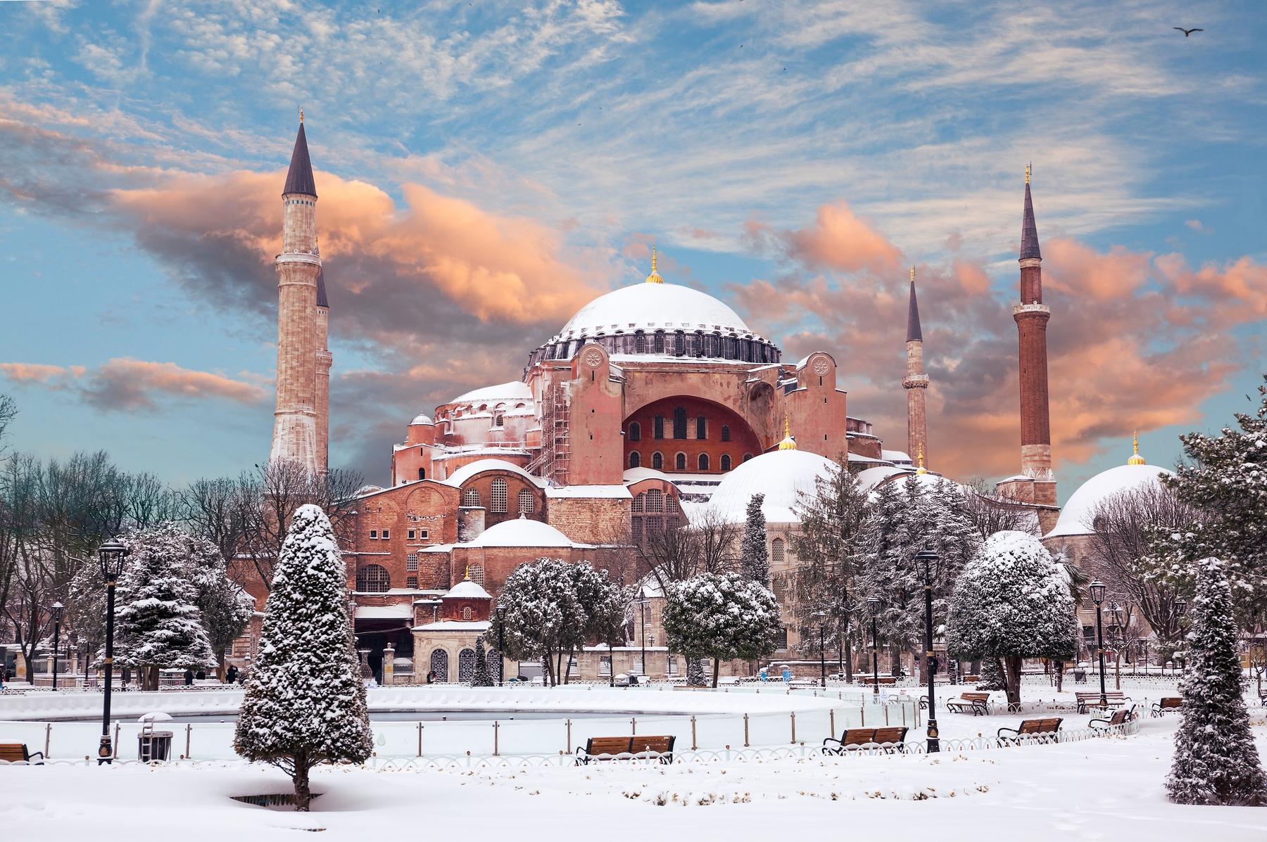 Куда поехать в январе. Стамбул, Турция