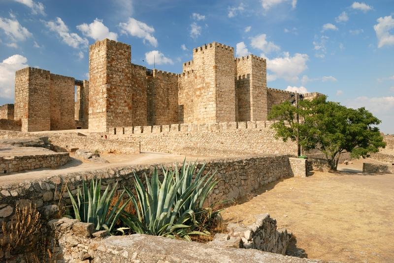 Το Κάστρο Trujillo στην Εξτρεμαδούρα, Ισπανία