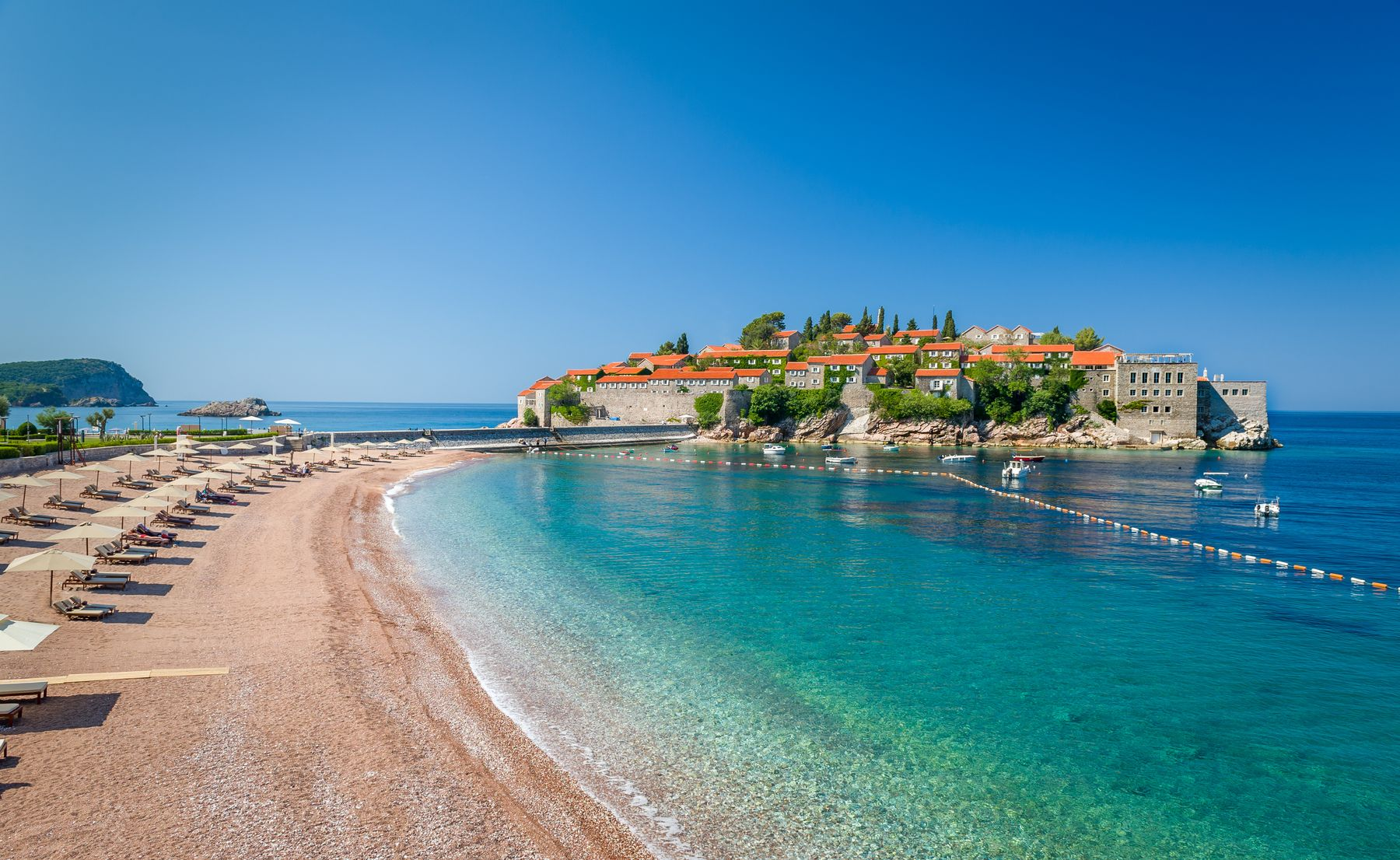 Остров Свети-Стефан в Черногории