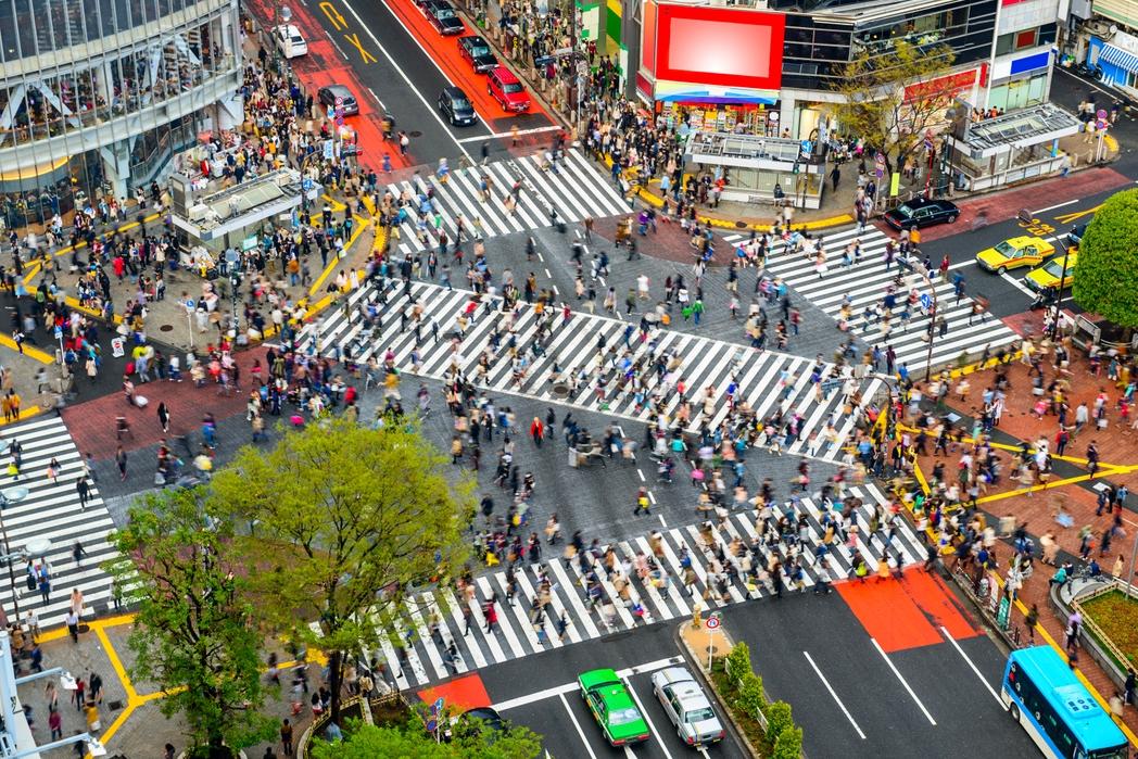 Διάβαση Shibuya, ένα απ' τα πιο διάσημα αξιοθέατα στο Τόκιο