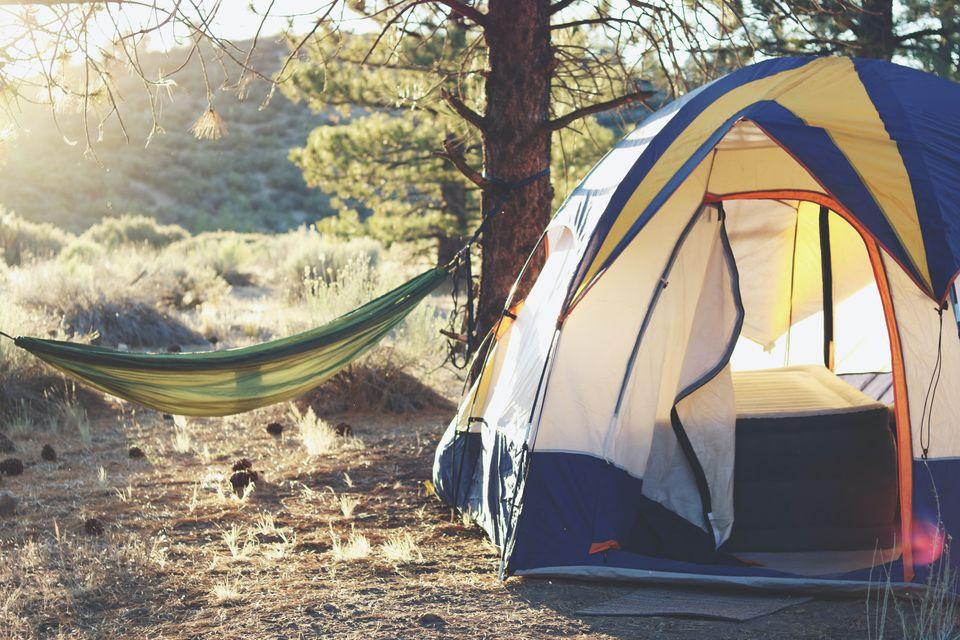 Campingurlaub mit der Familie