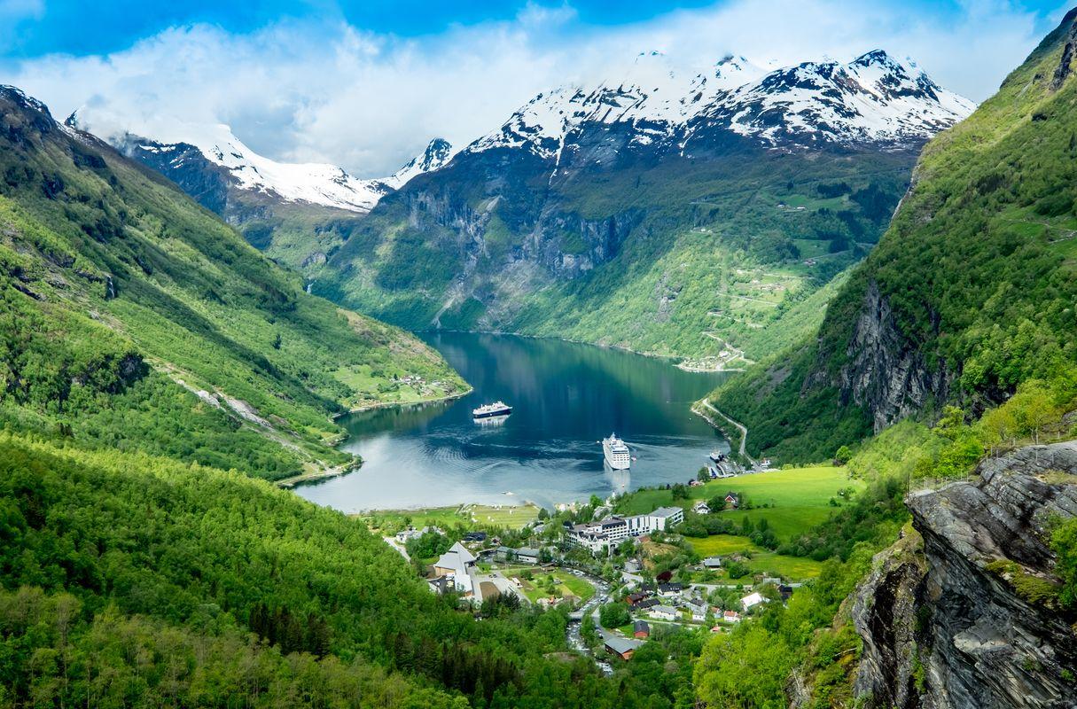 iskandinav ülkeleri norveç turu gezi fiyortlar