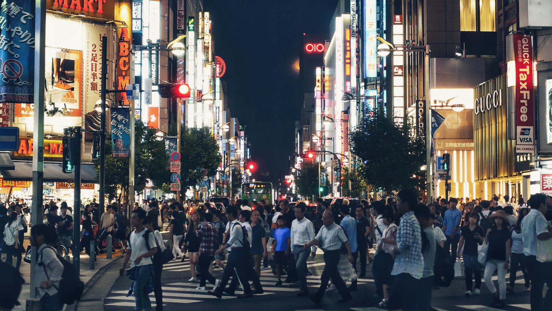 Tokyo, in Japan, is one of the destinations you can virtually travel to by means of travel shows on Netflix and other platforms