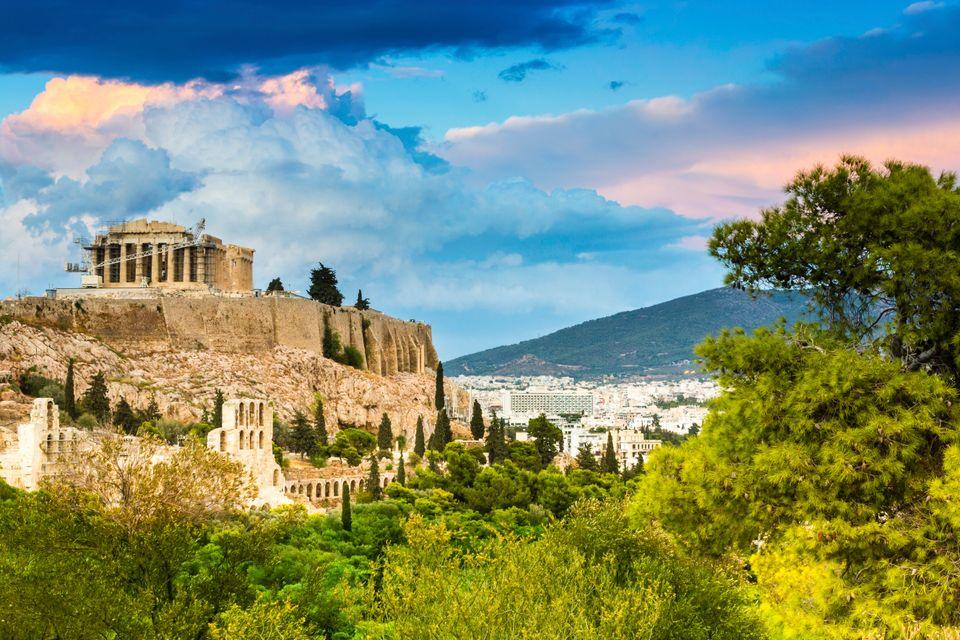 Ateny to punkt wypadowy na wyspy greckie