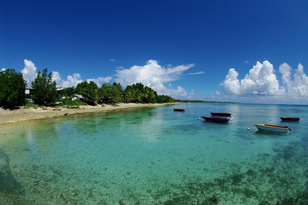 Polinesia: isole tuvalu