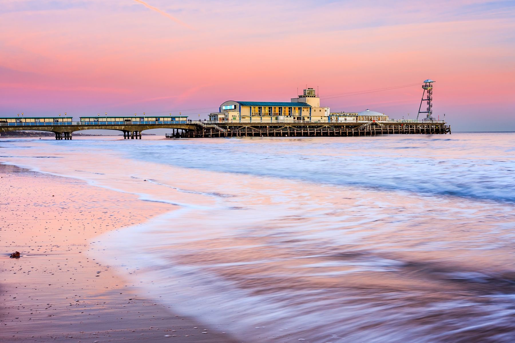 Bournemouth is a great place for a holiday in March