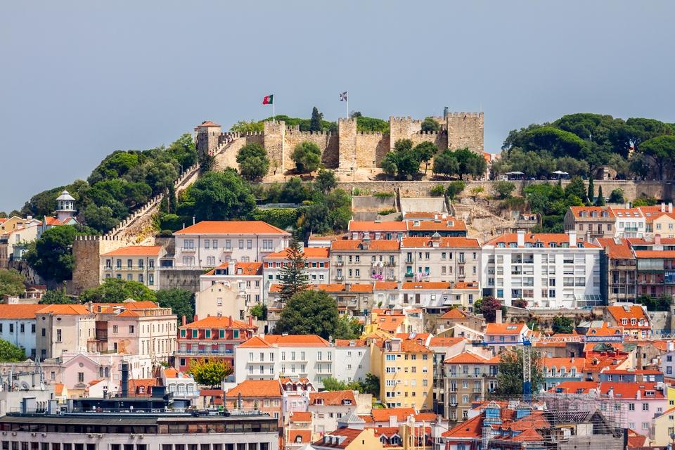 Κάστρο Αγίου Γεωργίου, Λισαβόνα