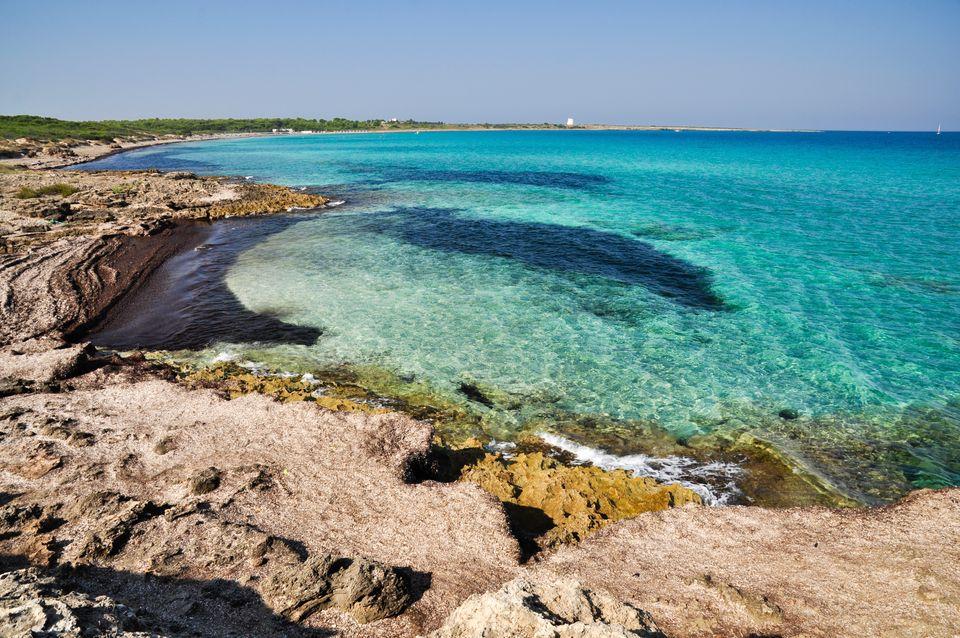 Cartina Spiagge Puglia Salento.Le 10 Spiagge Piu Belle Del Salento Skyscanner Italia