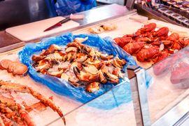 Τα θαλασσινά είναι το πιο διάσημο φαγητό στο Μπέργκεν.