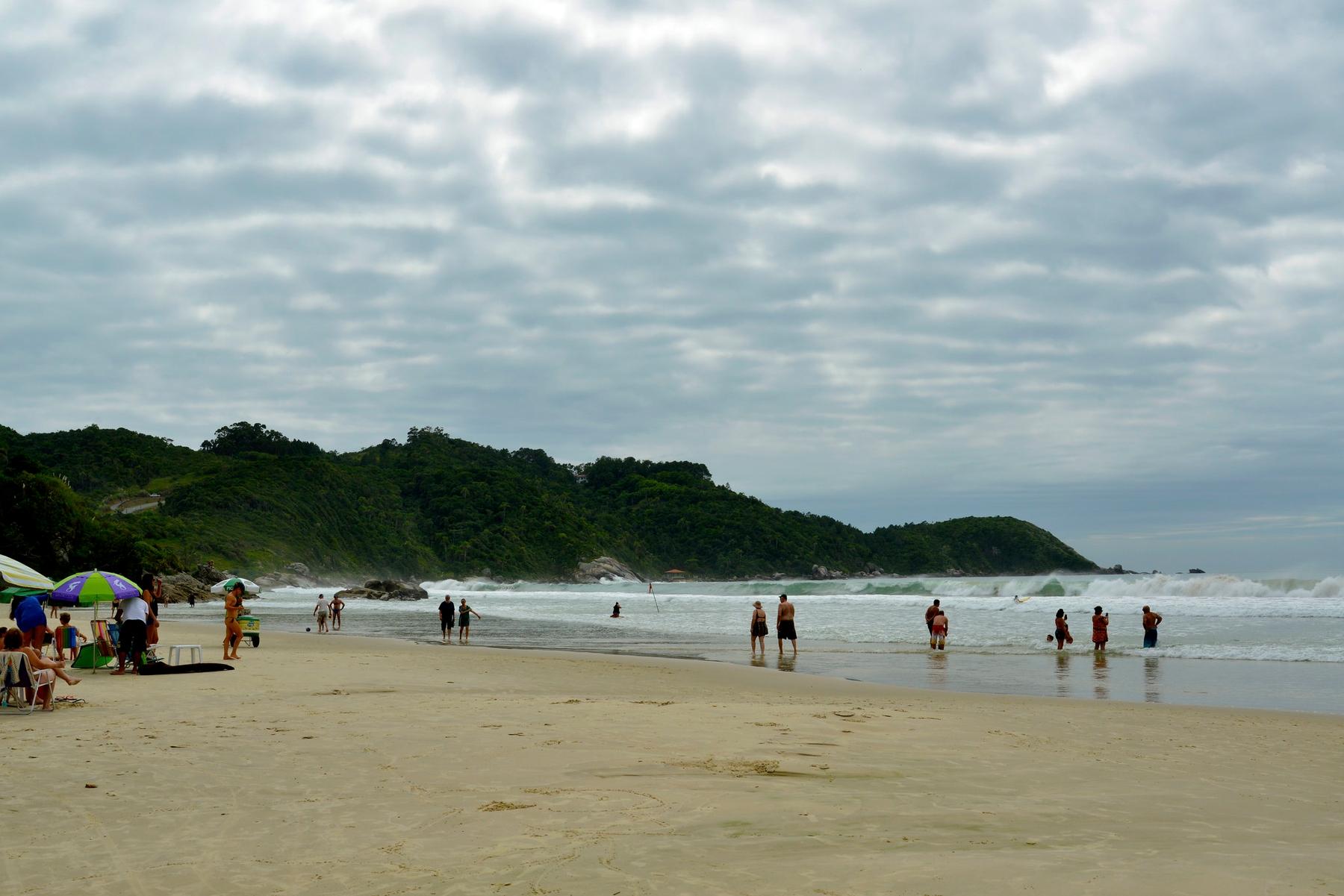 Praia do MAriscal, uma das que possuem Bandeira Azul em Bombinhas.