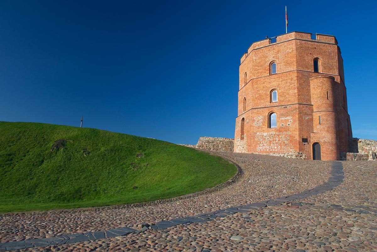 Vilnius- collina di Gediminas