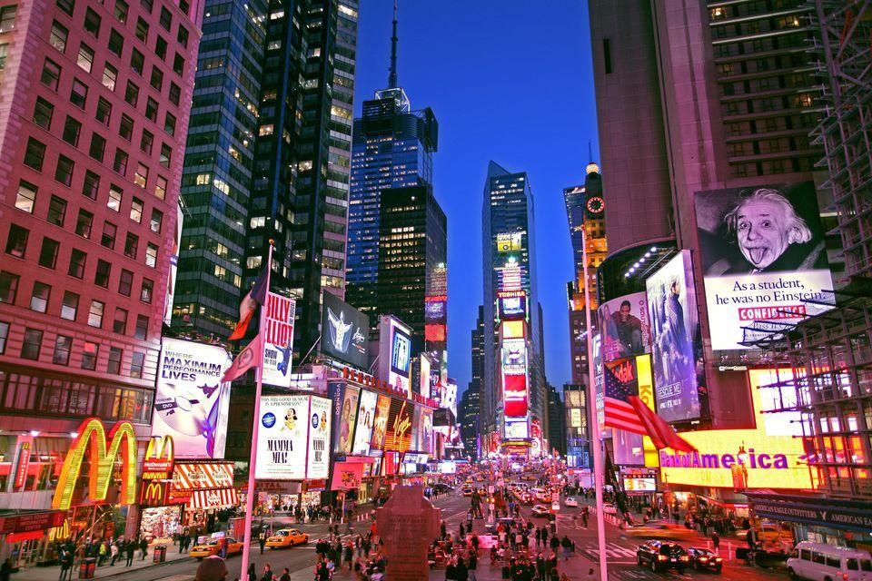Viajar barato a Nueva York: Times Square