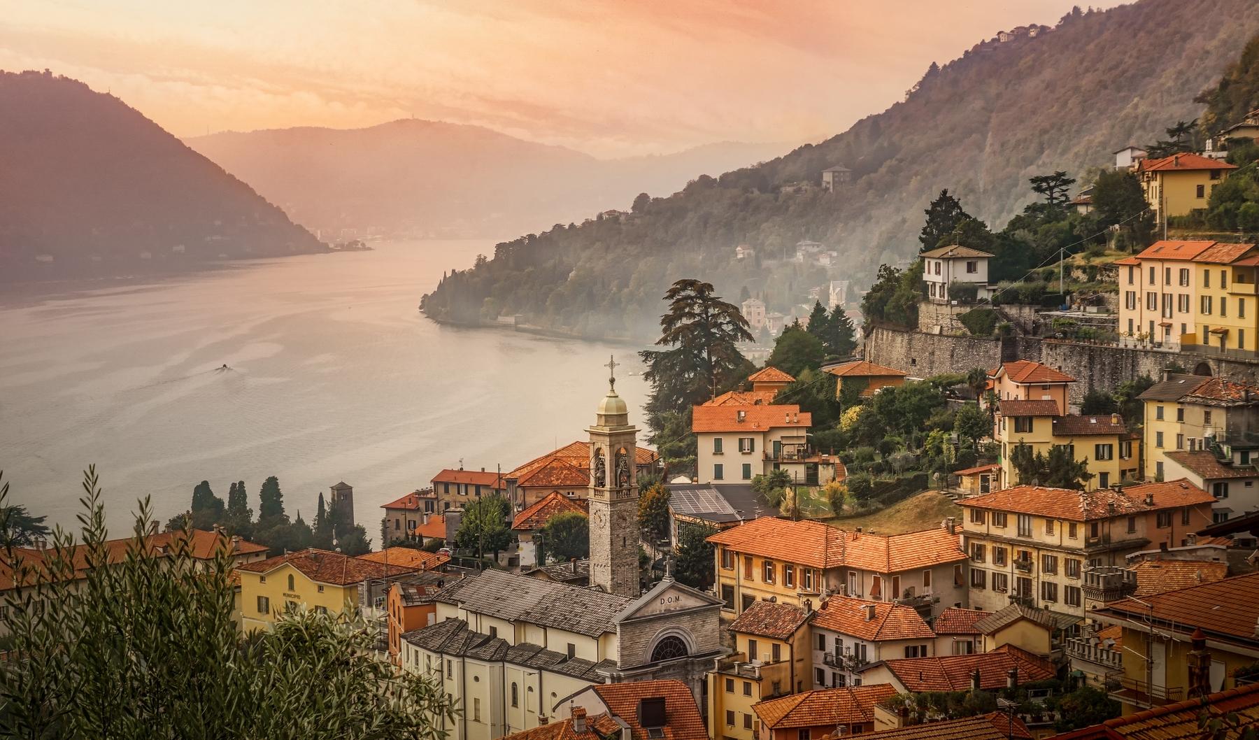 В Италию на машине! Три озера на севере страны, в области Ломбардия: Комо, Гарда, Маджоре