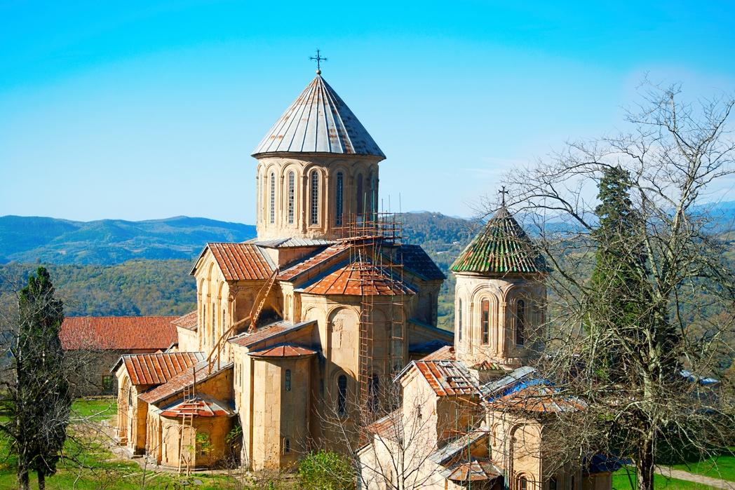 Tο μεσαιωνικό μοναστήρι Γκελάτι.