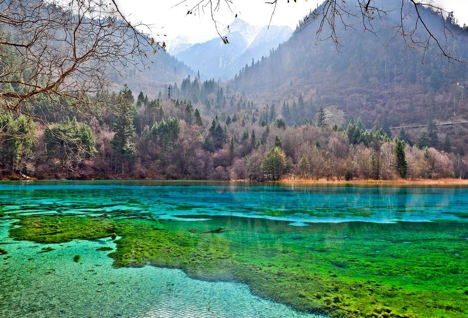 Пятицветный пруд, Китай