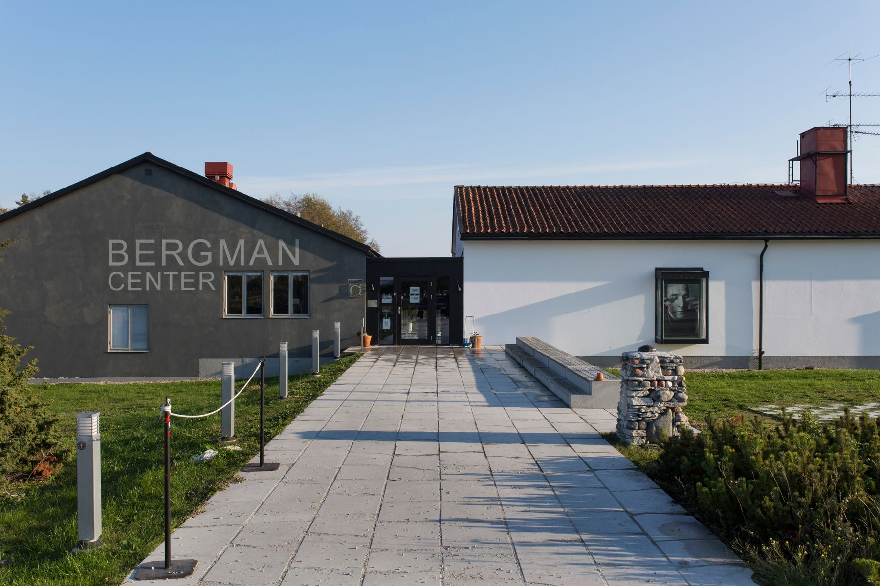 The Bergman Center in Fårö island