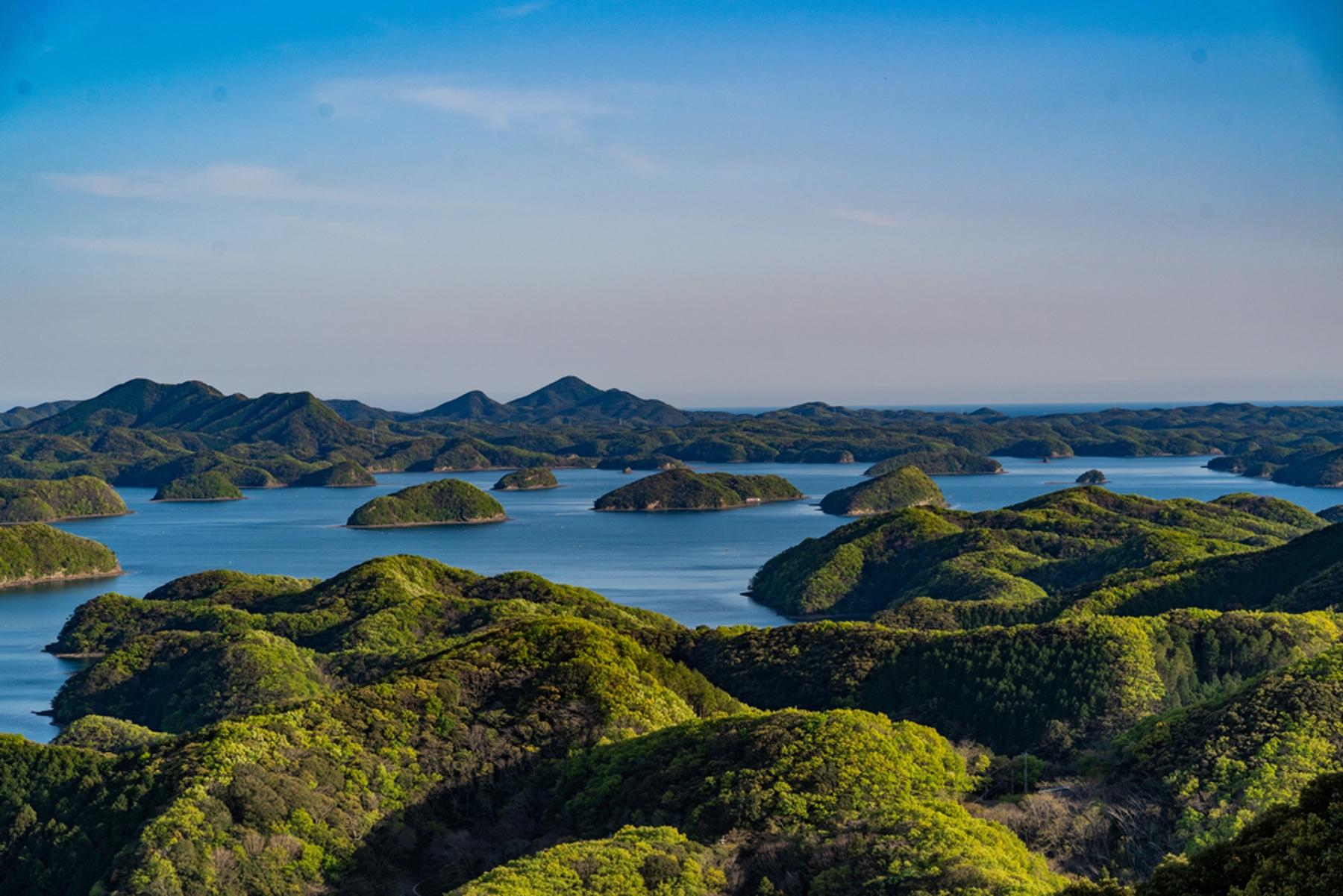 長崎県 壱岐対馬国定公園に指定されている絶景が広がる浅茅湾