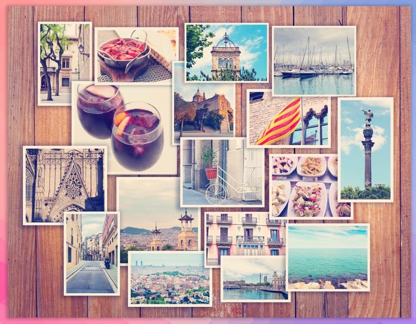 Urlaubsstimmung: Barcelona