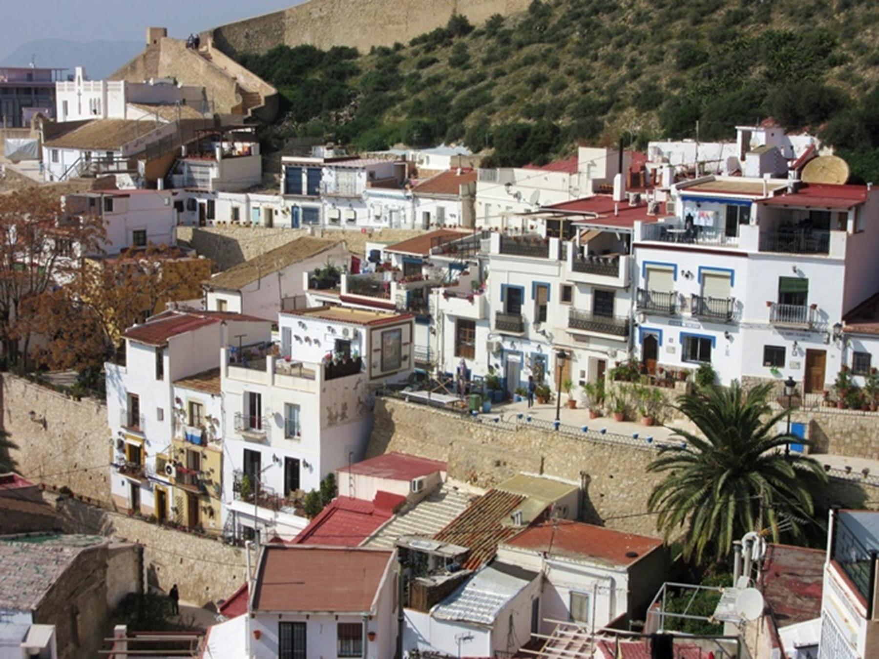 Barrio de Santa Cruz que ver en Alicante
