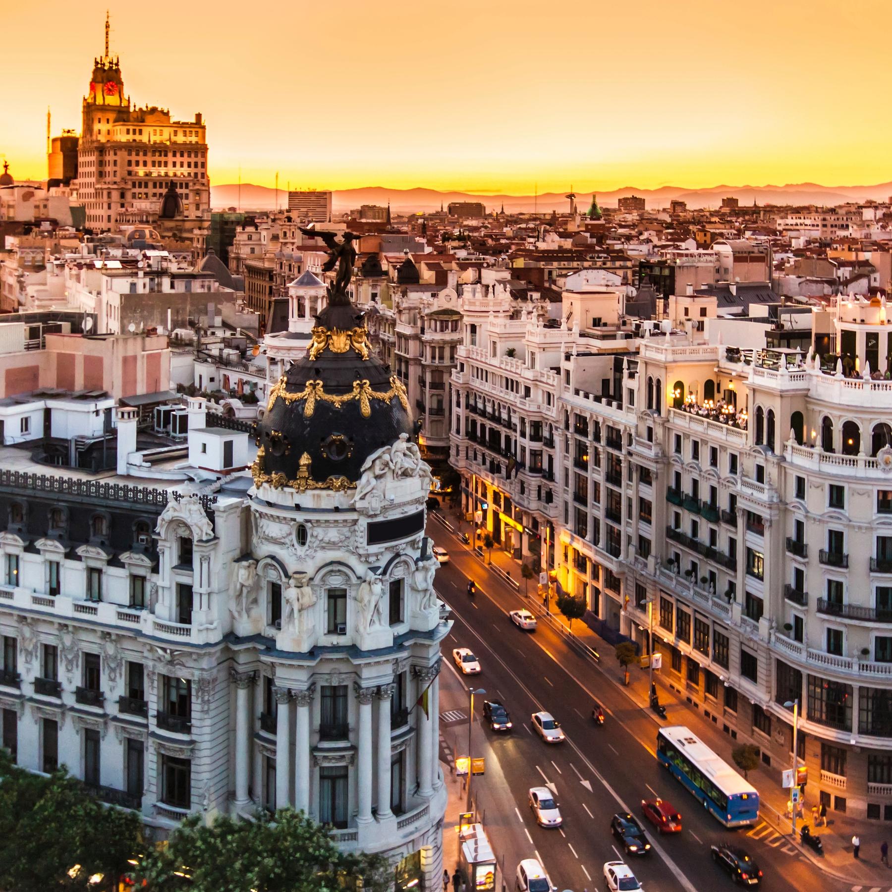 Stedentrip Europa Madrid Spanje