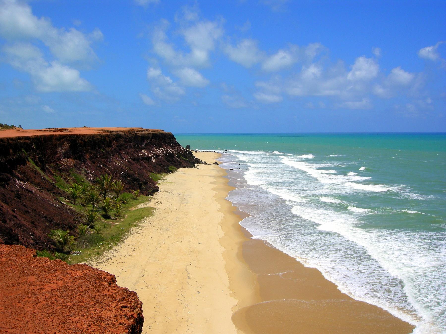 playa de Pipa Brasil viaje en marzo