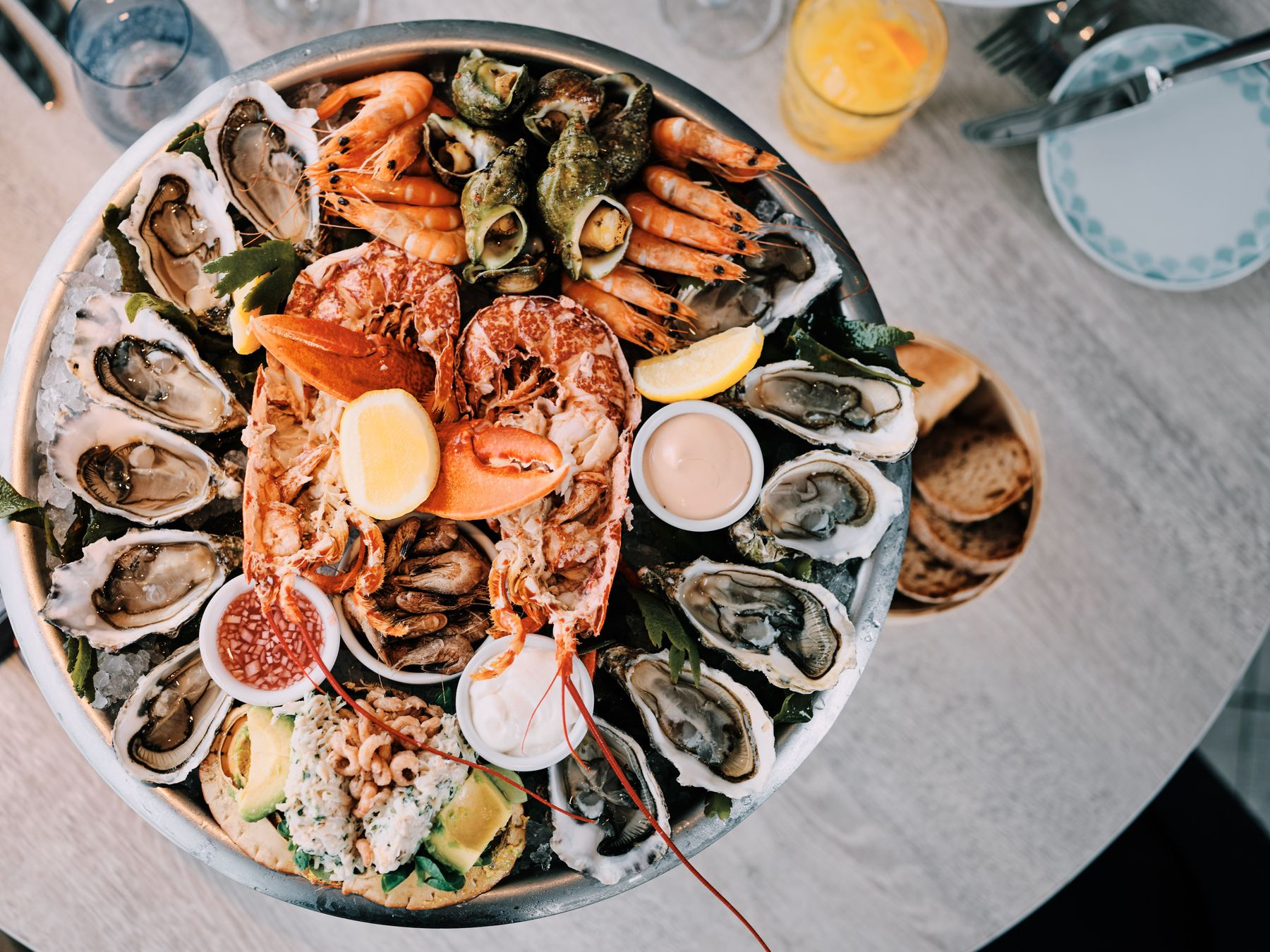 Jersey's seafood