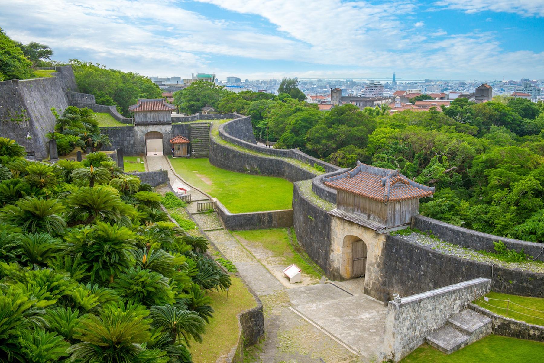 沖縄 那覇市 首里城跡 世界遺産 首里城公園