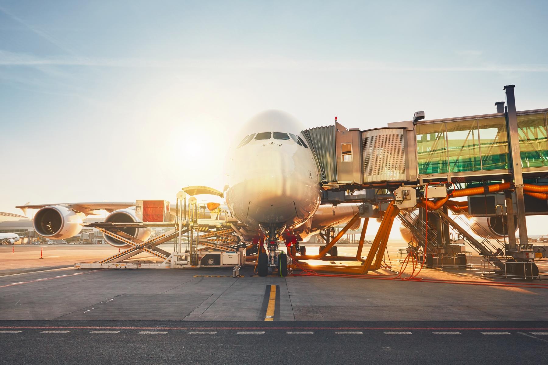 Wejście na pokład samolotu