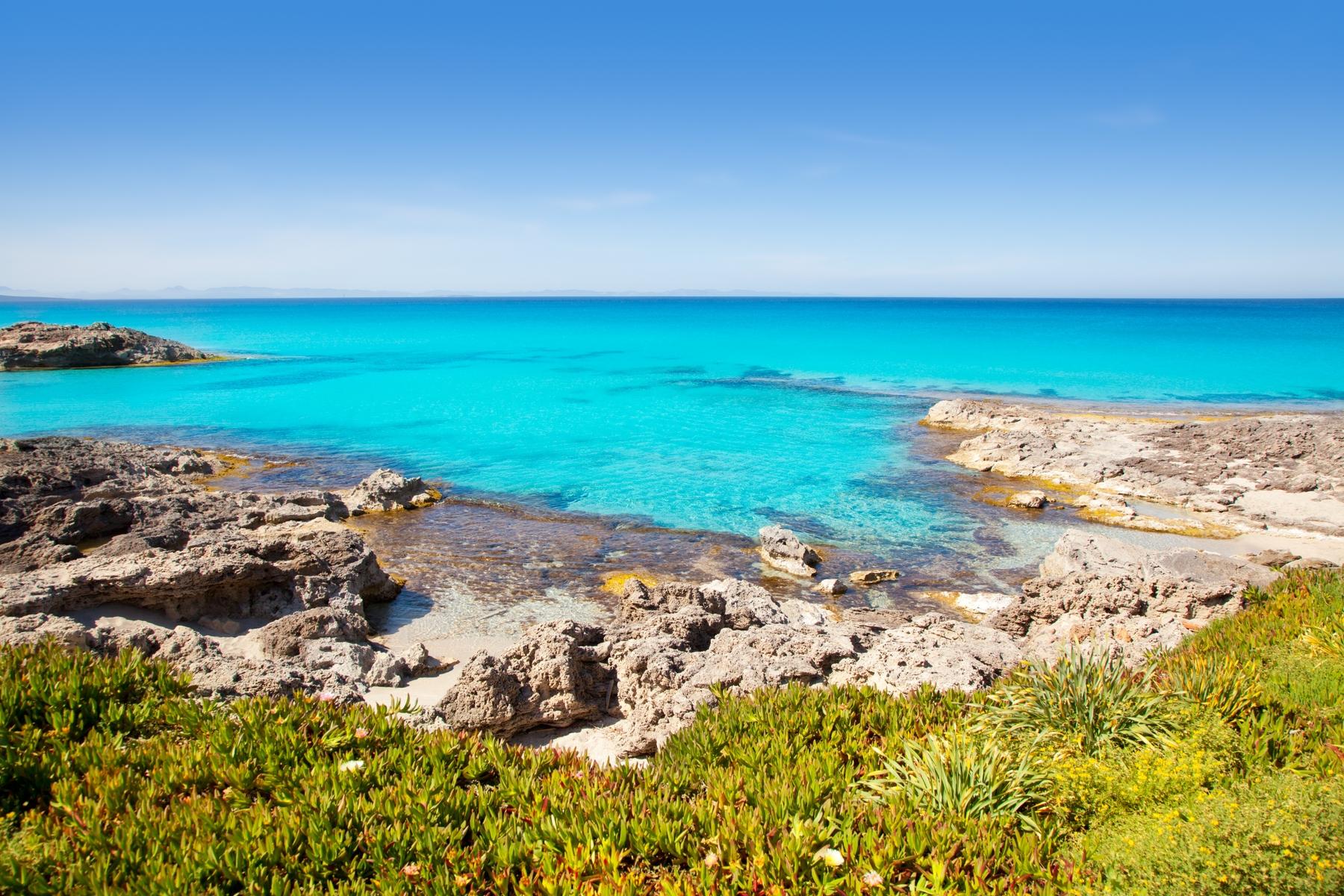 Spiagge Formentera: Sa Roqueta e Ses Canyes