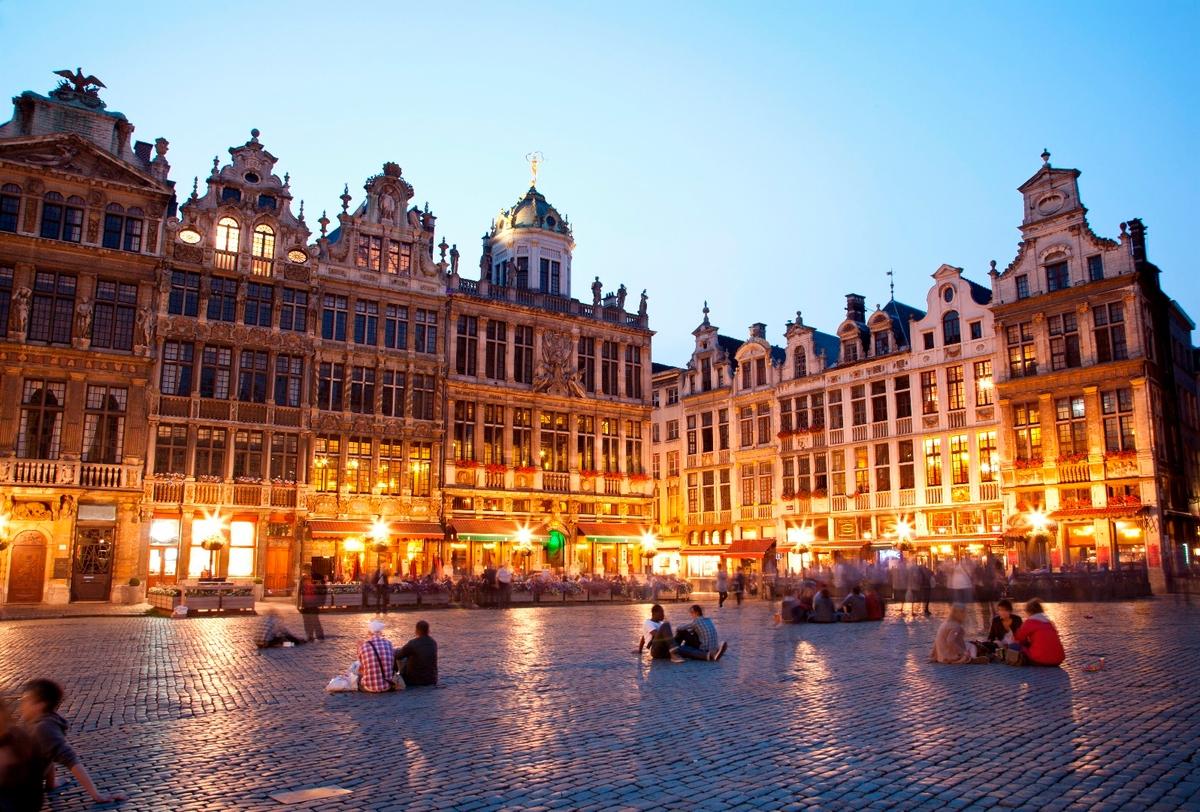 Гран-Плас — главная площадь в центре Брюсселя.