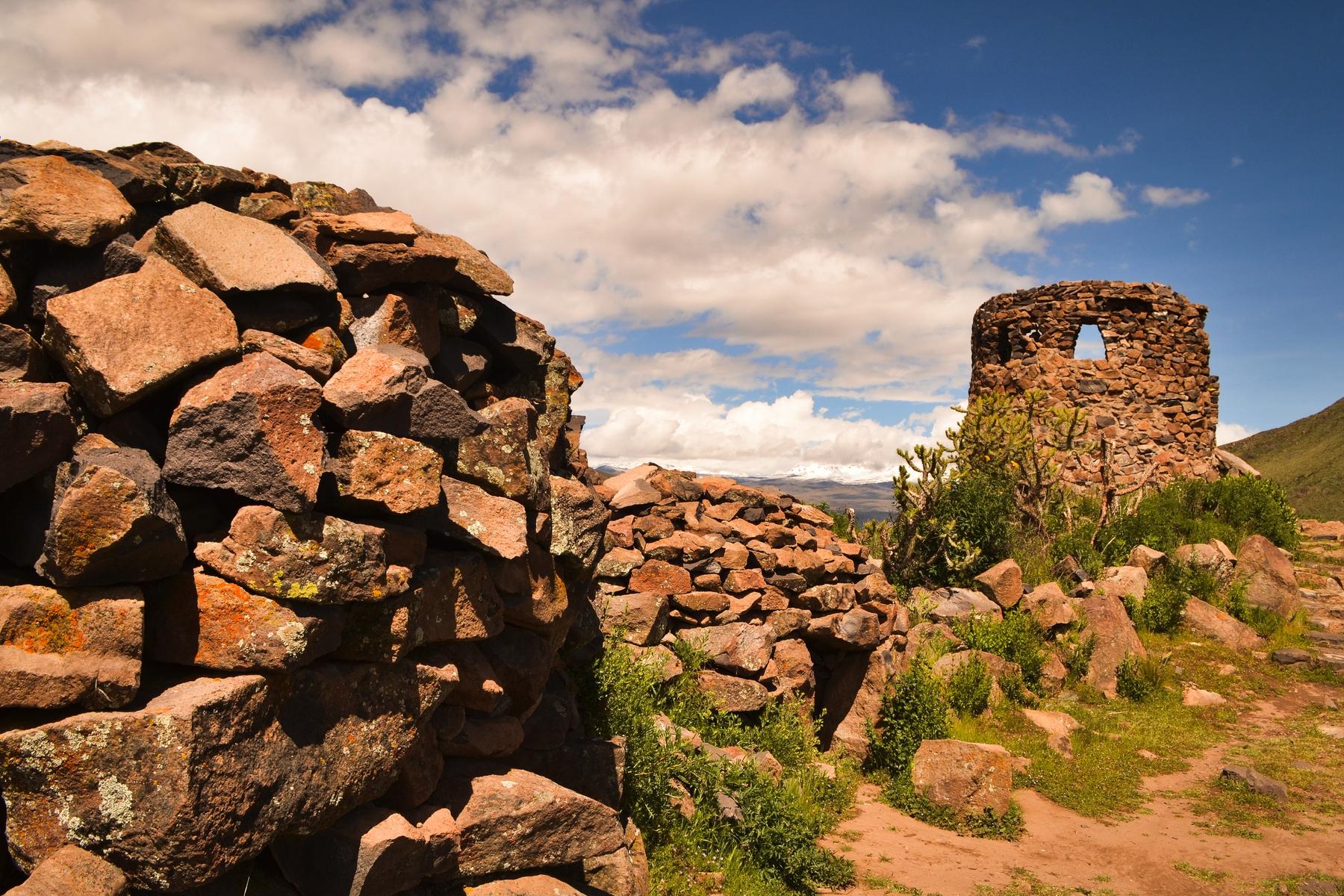 Ruins in Peru
