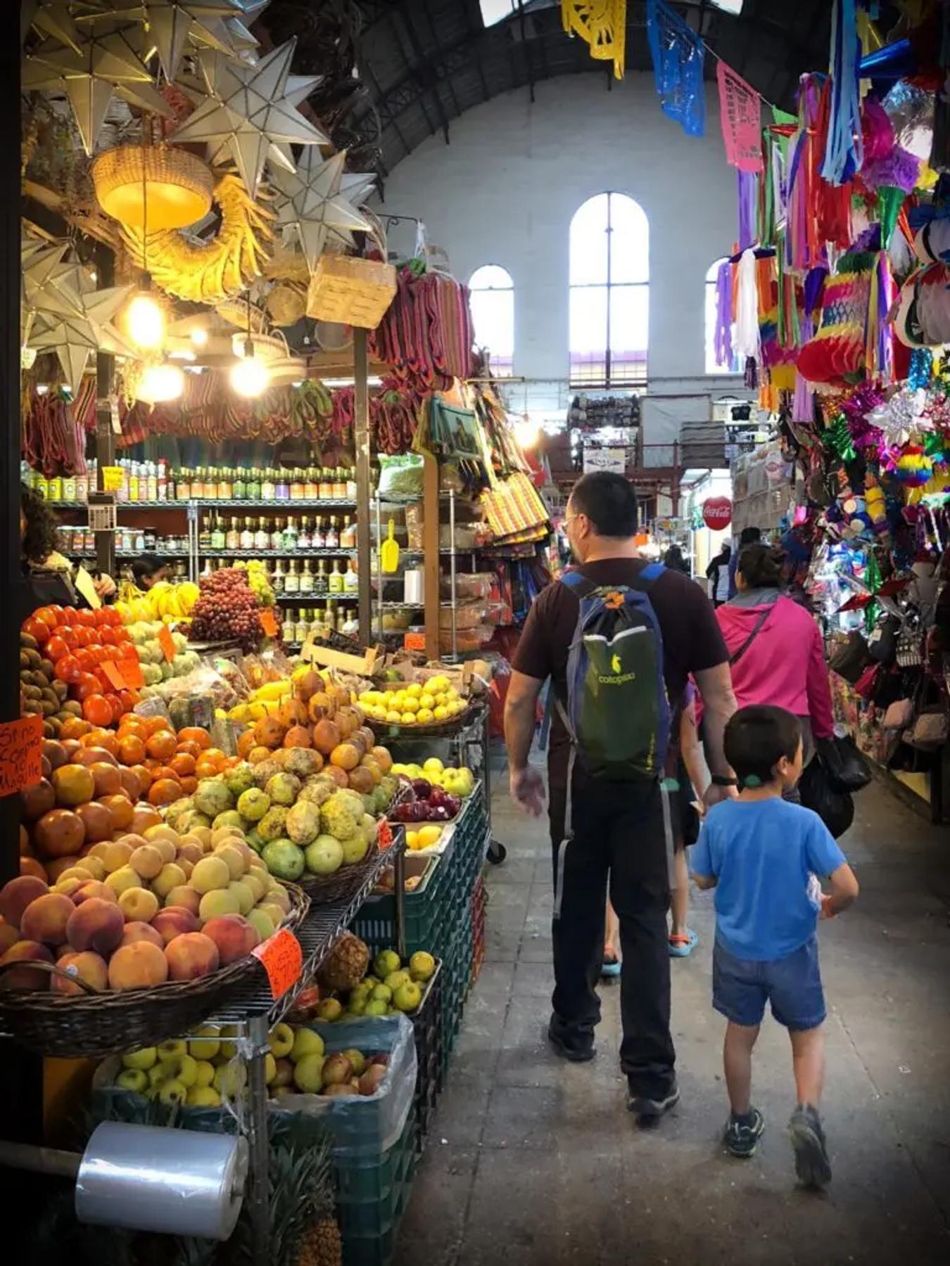 Visiting a local market in Guanajuato, Mexico (December 2018)