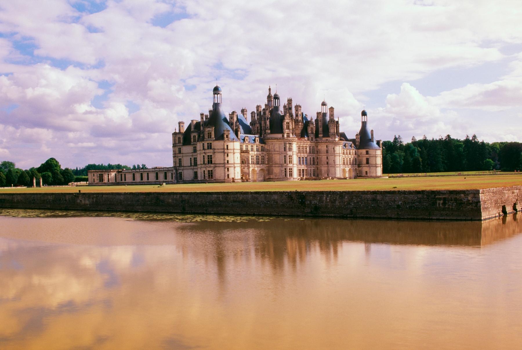 Un chateau dans la Loire en France