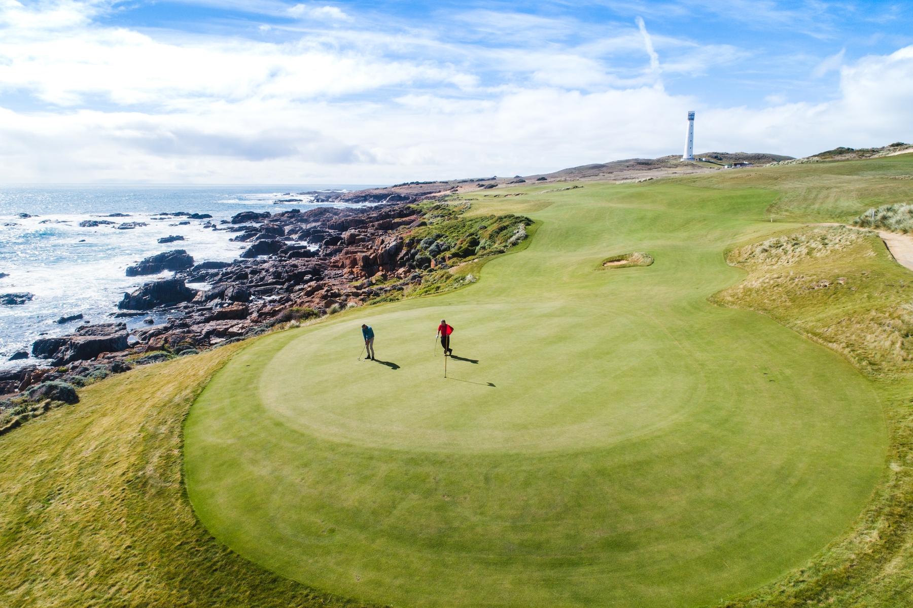 Cape Wickham; Australia's spectacular new Golf Course on King Island, Tasmania