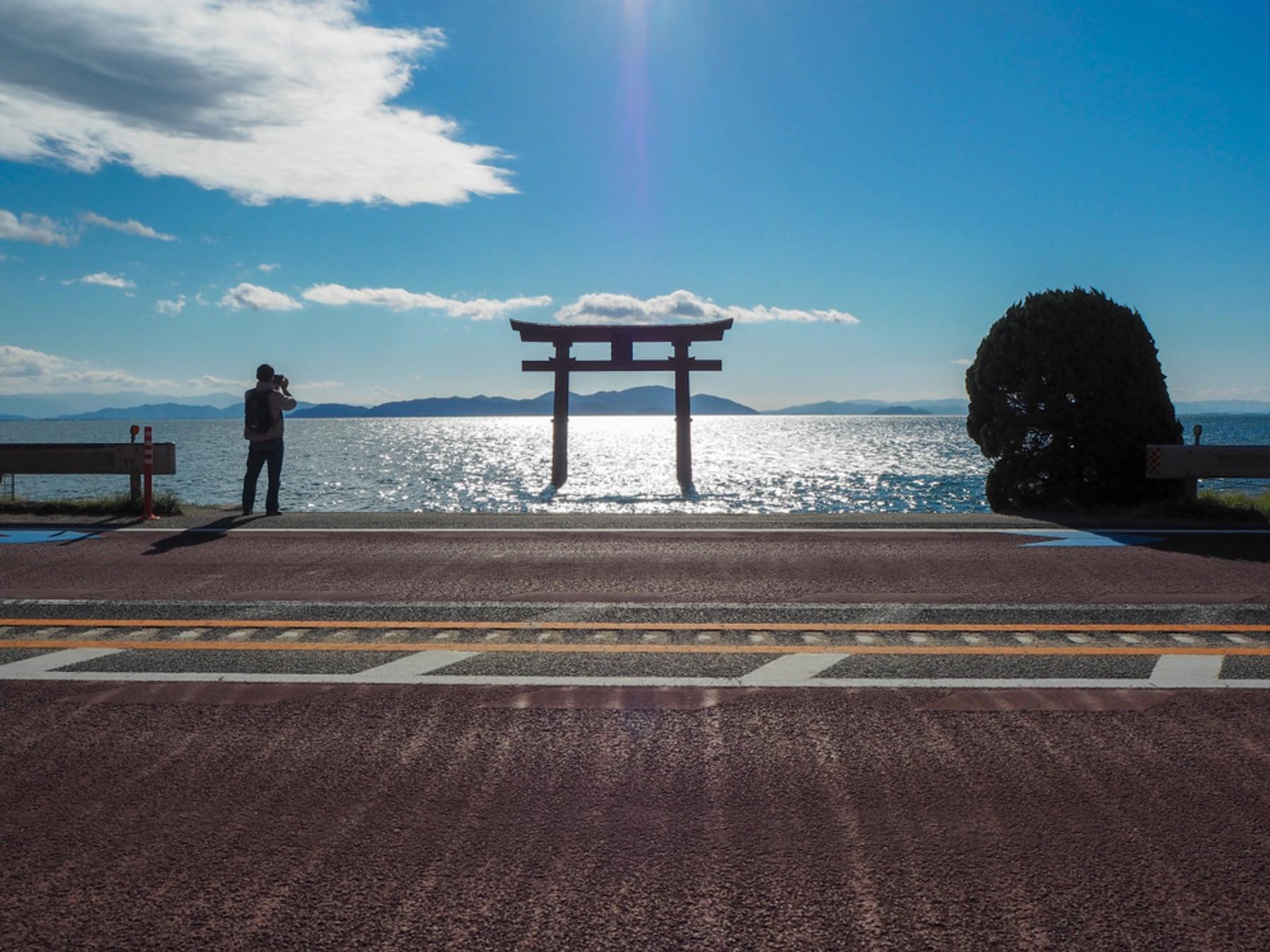 滋賀県高島市・白髭神社