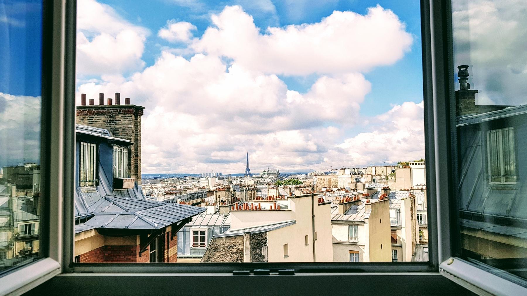 Une vue sur Paris, France