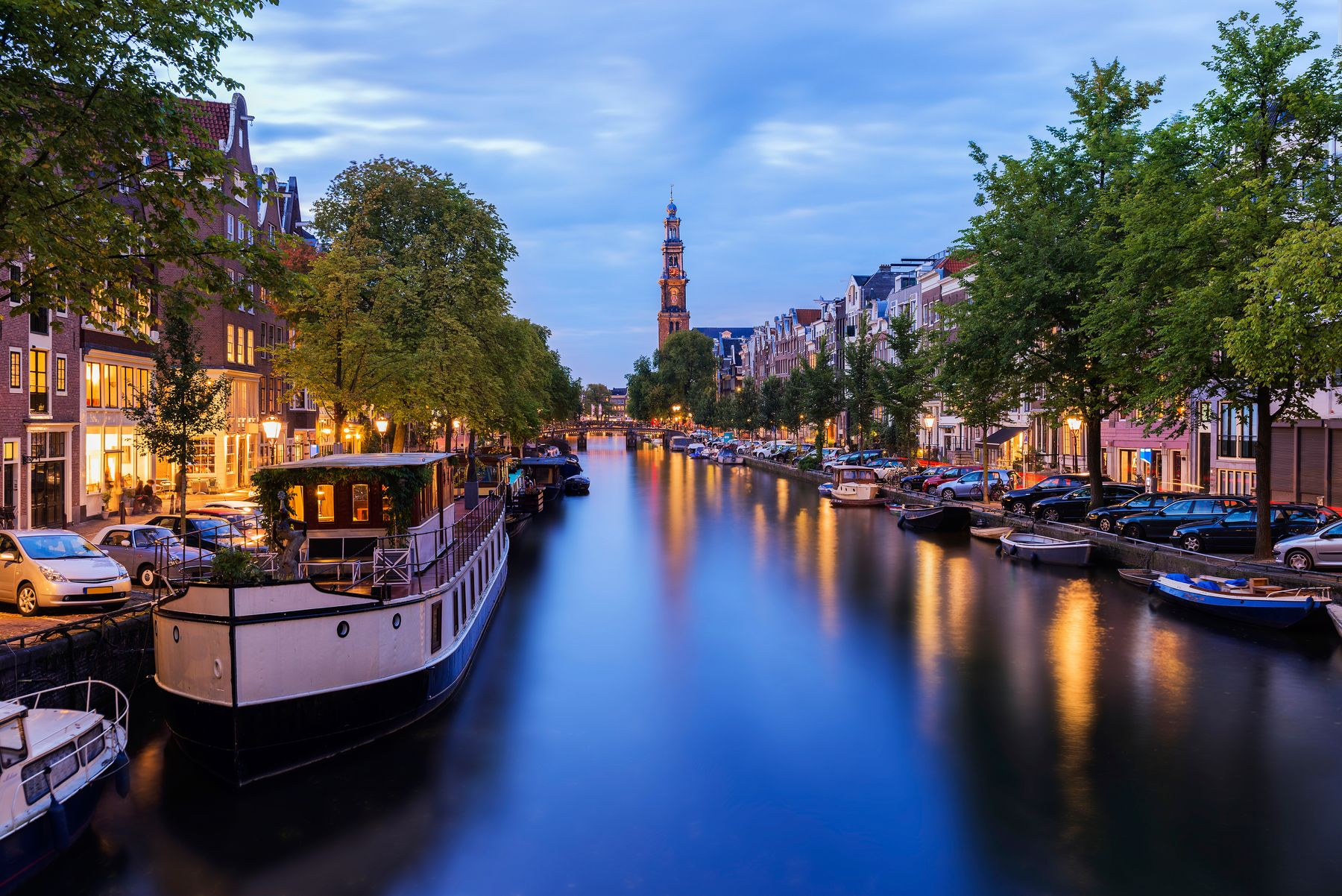 Pedal the canals of Amsterdam